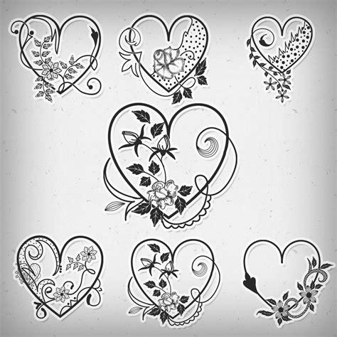 pattern heart photoshop valentine heart brushes photoshop brushes