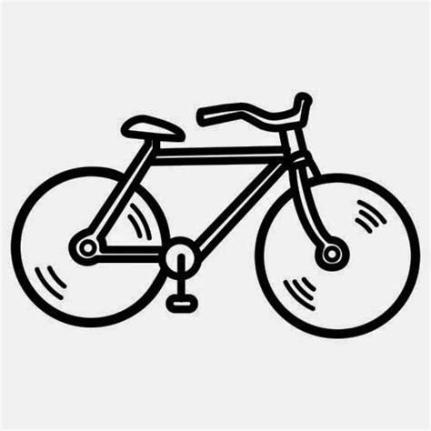 imagenes de bicicletas faciles para dibujar desenhos de bicicletas para colorir e imprimir