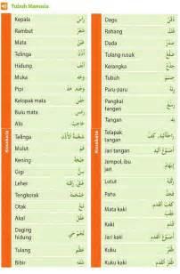 nama nama bagian tubuh manusia dalam bahasa arab alqur anmulia