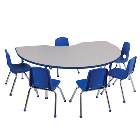 Preschool Tables And Chairs by Ecr4kids Preschool Kidney Activity Table Chair Packages