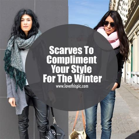 A Recipe That Complements Your Style by Scarves To Compliment Your Style For The Winter