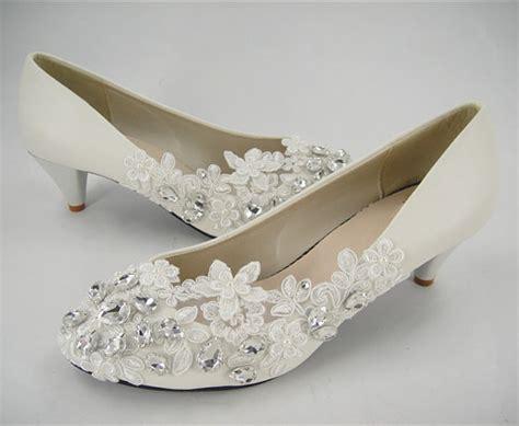Lace Flat Wedding Shoes by Flat Wedding Shoes Lace Bridal Shoes Wedding