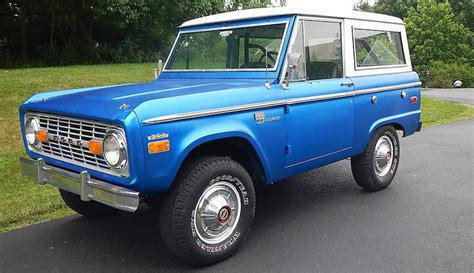 Garage Planning This 1970 Ford Bronco Could Be Yours At No Reserve
