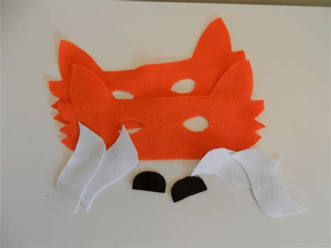 How To Make A Fox Mask Out Of Paper - fo fox mask grey hedgehog