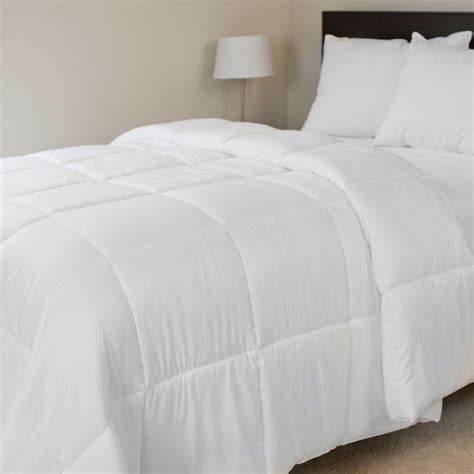 king down alternative comforter lavish home overfilled white down alternative king