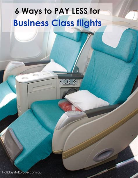 6 ways to pay less for business class airfares travel the o jays and a business