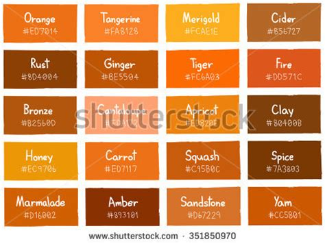color symbolism for svg and css color names in shades of honey guide stock photos images pictures shutterstock