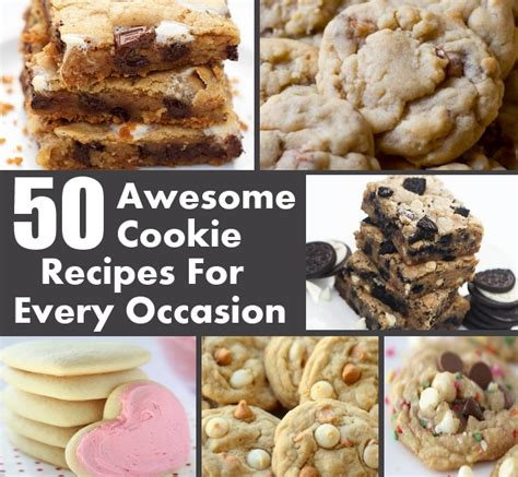 8 Awesome Cookie Recipes by 50 Awesome Cookie Recipes For Every Occasion Diy Home Things