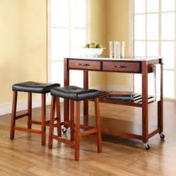 Small Kitchen Island With Stools by Black Granite Kitchen Island With Stools Home Design And