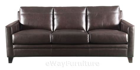top grain leather sofas fletcher brown top grain leather sofa