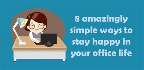 keep your spirits up a simple guide to lift your vibes sky high without struggle or books 8 simple ways to stay happy in your office