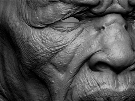zbrush tutorial wrinkles making of mursi tribesman by adam skutt maya