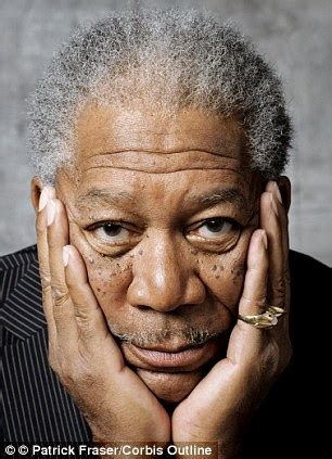 older heavy set actress with deep voice morgan freeman people know my voice before they see my