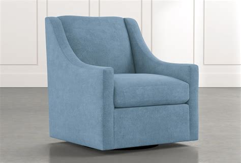 emerson ii light blue accent chair living spaces