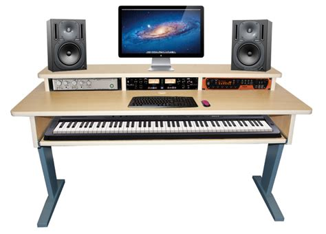 Small Studio Desk Az 2 Maple Keyboard Studio Desk