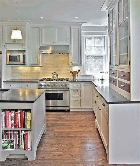 kitchen cabinets washington dc these dark counter tops create contrast between white