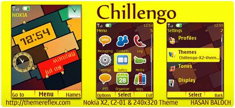 nokia c2 colorful themes color themes themereflex