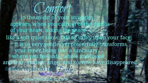 pray for comfort discovering strength bella bleue healing