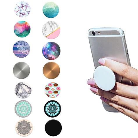 pop phone grip sockets fashion phone holder expanding stand and grip pop socket