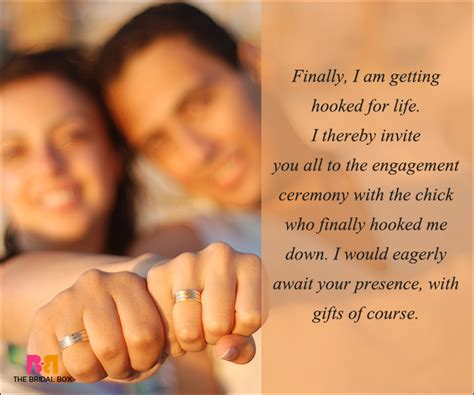 wedding ceremony invitation text message 50 engagement invitation wording ideas to the rescue