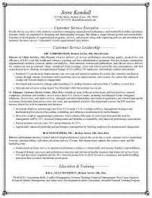 Objective For Resume For Customer Service by Customer Service Resume Objective Exles Berathen