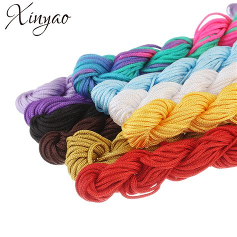 Rope Macrame - aliexpress buy 28m lot 1 5mm colored rope