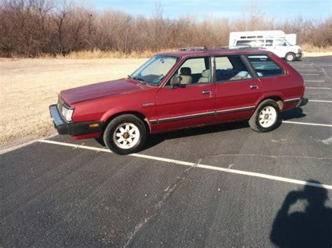 subaru gl 1983 1983 subaru gl wagon no reserve for sale subaru wagon no