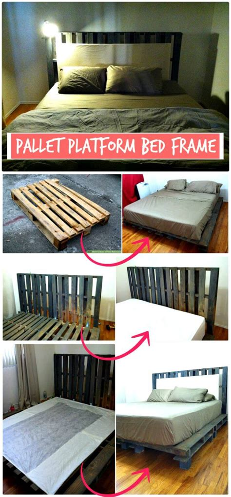 11 pallet bed ideas step by step pallet bed frame