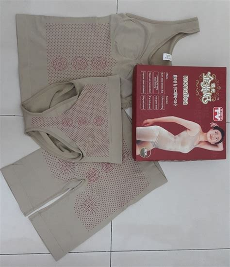 Pelangsing Mona Dan skin monalisa infrared 3in1 slimming set as seen on tv body corset ccmall2u malaysia