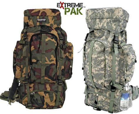 Camouflage Hiking Backpack big camo backpack water resistant hiking cing