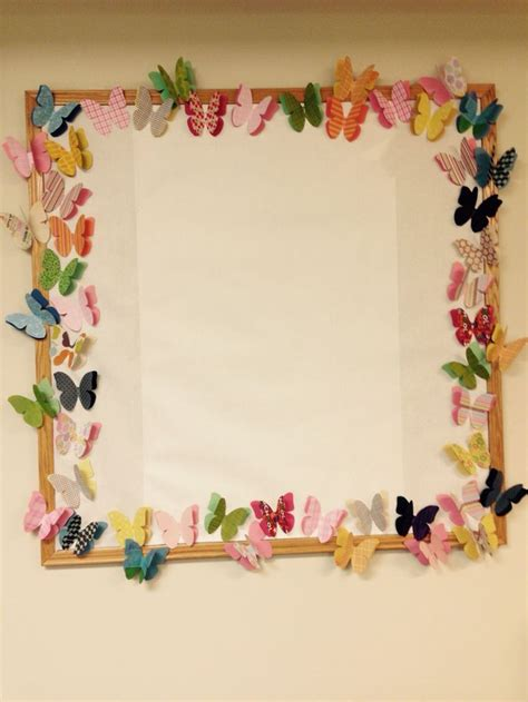 butterfly border bulletin boards pinterest