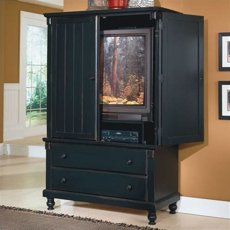Black Tv Cabinet With Doors Tv Armoires Tv Armoires Mirrors Included 238 95 450 Beds Choose Size Add Bedroom