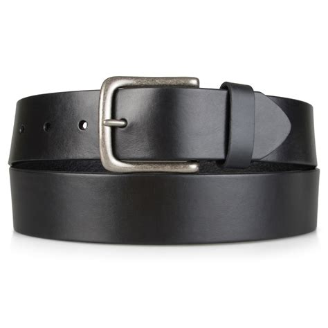 Handcrafted Leather Belt - hilfiger mens casual handcrafted genuine leather