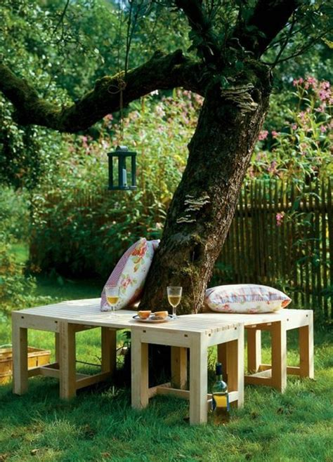 tree benches furniture