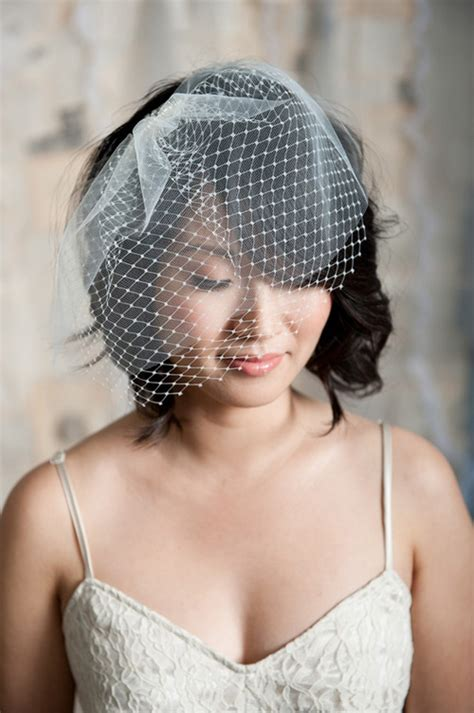 wedding updos with birdcage veil wedding hairstyles for short hair 2012 2013 short