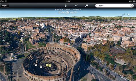 imagenes extrañas del google earth google earth 7 0 llega a ios con gu 237 a tur 237 stica y ciudades