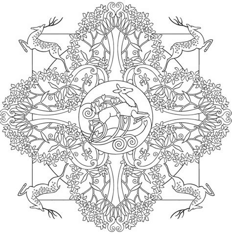 nature mandala coloring books welcome to dover publications