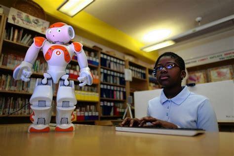 film with robot teachers when a teacher is 2 feet tall wsj