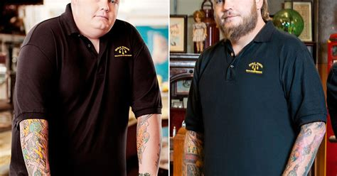 big hoss weight loss pawn stars corey harrison weight loss 190 pounds before