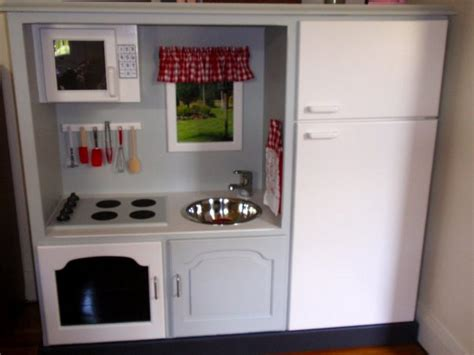 tv cabinet made into play kitchen turn an old tv cabinet into a play kitchen how to make a