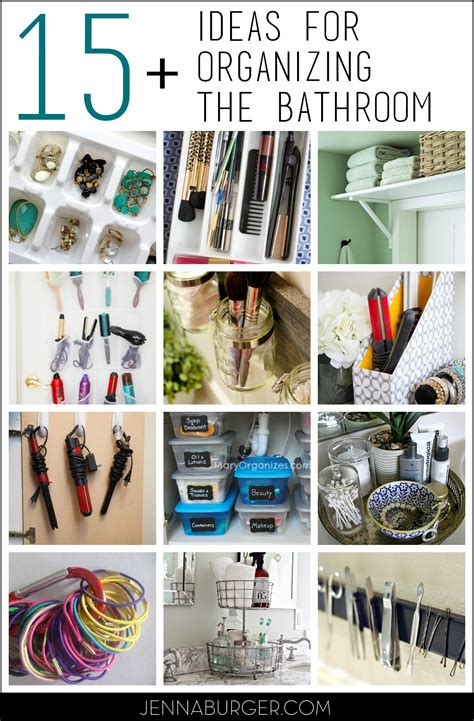 organizational tips 15 organizational ideas for the bathroom