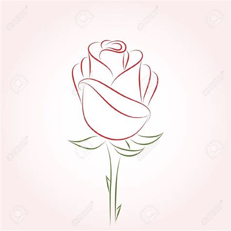 rose outline tattoo 25 best ideas about outline on simple