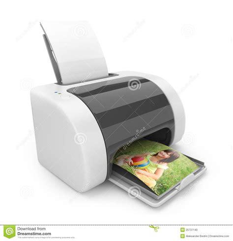 Printer Foto 3d 3d printer af drukken foto s pictogram stock foto afbeelding 25737140