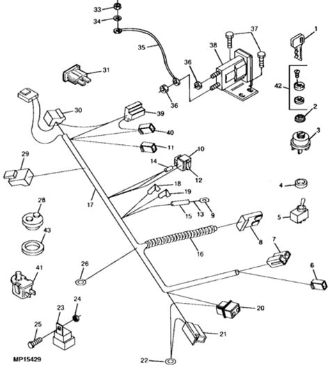 deere stx 46 deck belt diagram get free image
