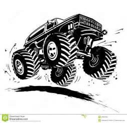 cartoon monster truck stock photo image 29933560