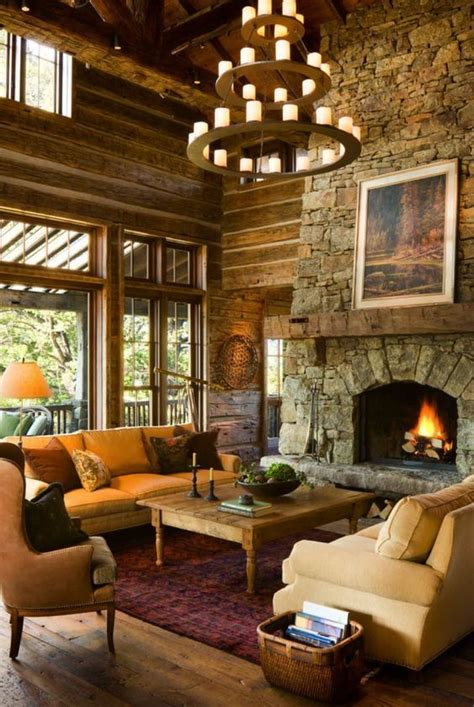 airy  cozy rustic living room designs digsdigs