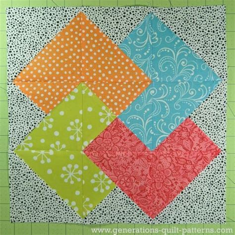 quilt pattern card trick card trick quilt block from our free quilt block pattern