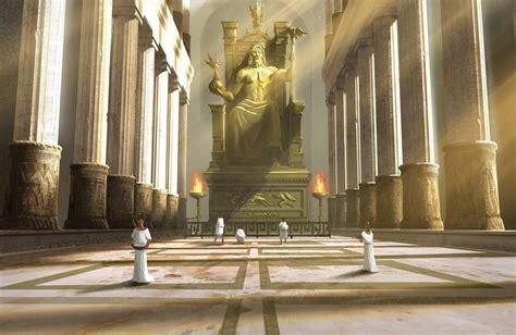 imagenes de la estatua del dios zeus estatua crisoelefantina de zeus ol 237 mpico olimpia juegos