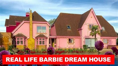 youtube barbie dream house look inside real life barbie dream house tour youtube