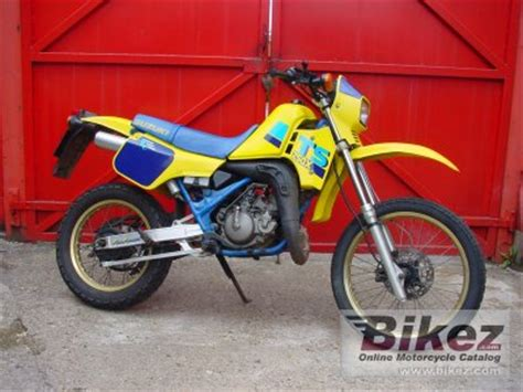 Suzuki Ts250x For Sale 1989 Suzuki Ts 250 X Specifications And Pictures